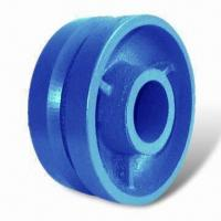 Cheap Heavy-duty Groove Caster Wheel, Made of Premuim Ductile Iron, Provides Superior Strength for sale