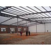 Pre Engineered Steel Framed Agricultural Buildings Clear Span Welded H Section