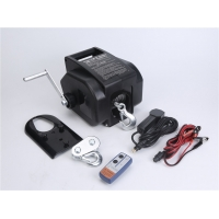 Buy cheap 2000lbs Portable 12v Electric Boat Winch For Yacht Pulling from wholesalers