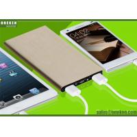 Cheap Ultrathin Portable Fast Charging Power Bank 6000mah With Lithium - Ion Polymer Battery for sale