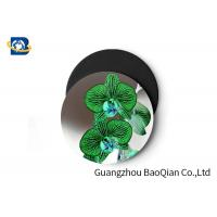 Cheap Stunning Flower Personalised Round Coasters , Print Your Own Coasters 3D Lenticular Picture for sale