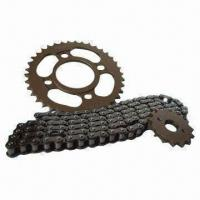 Cheap Motorcycle Chains and Sprockets with Excellent Resistance for sale