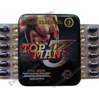 Cheap Top Man 3 Sex Vimax Enhancement Pills Topman 3 Male Performance Enhancer Pills for sale