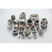 China stainless 310Moln UNS S31050 1.4466 forged socket threaded plug nipple boss union insert on sale