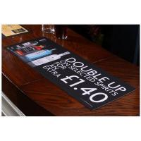 Cheap Sublimation Printed Rubber Bar Runner For Restaurants for sale