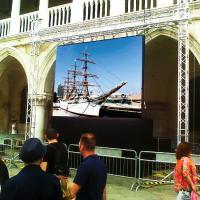 Buy cheap Full Color P3.91 Outdoor Rental Led Screen Wall For Advertising 42 Months Warranty from wholesalers