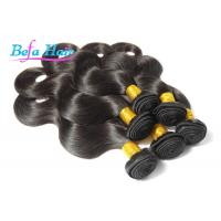 "Cheap Natural Black 8"" / 12"" Grade 6A Virgin Hair , Body Wave Brazilian Virgin Hair wholesale"