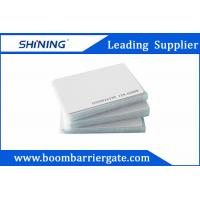 Cheap 0.86mm 13.56 MHz Smart PVC RFID Card For Electronic Toll Collection Management for sale
