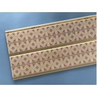 Cheap 10 Inch Water Resistant Bathroom Wall Panels With PVC Resin Material for sale