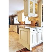 Cheap European Modern white color wooden Kitchen cabinet for sale