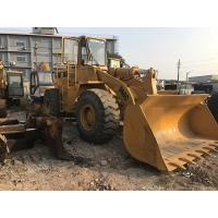 China New Paint Used CAT Loaders , 966C Caterpillar Front End LoaderCAT 3306 Engine on sale