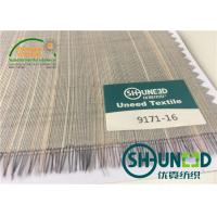 Cheap Horse Tail Woven Interlining Fabric For Uniform And Business Casual Suits for sale