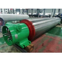 China Stainless steel rubber covered vacuum press roll for high speed paper making machine on sale