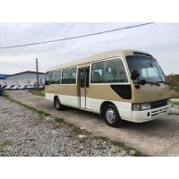 Cheap LHD 2016 second hand /used toyota coaster mini coach for sale with 30 seats for sale