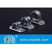 Quality BS4568 / BS31 Conduit Fittings Carbon Steel Spacer Bar Saddle With Base wholesale