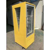 Cheap Single Door Beverage Display Cooler , Commercial Beverage Fridge for sale