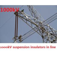 Cheap Grey 1000kV High Voltage Insulator ANSI Professional For Electric Tower wholesale