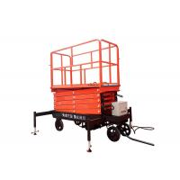 Cheap Self Propelled Hydraulic Mobile Scissor Lift Table With Lifting Height 3 - 16m for sale