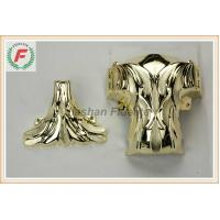 Cheap Gold Silver Copper PP Or ABS Plastic Casket Corner 1# Leaf Funeral Decoration for sale