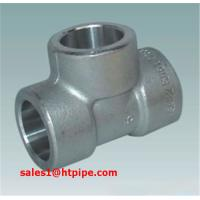 Quality ASTM B564  UNS N04400 UNS N06600  nickel alloy forged socket welding sw tee  ASME B16.11 wholesale