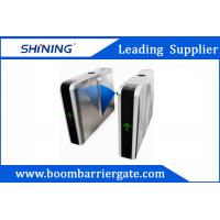 Cheap Flap Automatic Arm Barrier, Access Control Turnstiles With LED Digital Display for sale