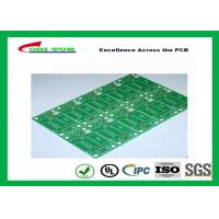 Cheap Tamura Matte Green Single Sided PCB   1L FR4 1.6mm Immersion Gold PCB for sale
