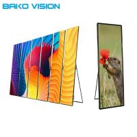 Cheap Aluminum Backlit Poster Display Indoor Outdoor Ultralight P2.5 P3 For Advertising for sale