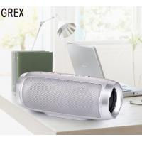 Cheap Grex wireless Bluetooth Dual speaker Mini Portable subwoofer TF card Car Handsfree Receive Call Music Suction Mic for sale