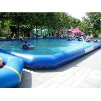 China Outdoor PVC Above Ground Inflatable Swimming Pools for Amusement Water Park on sale