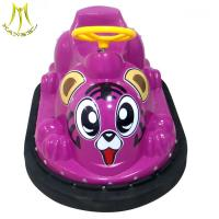 Cheap Hansel kids coin operated battery powered electric bumper car for sale