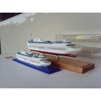 Cheap Hand Painted Wooden Ship Models , Princess of the heyday Cruise Ship Model for sale