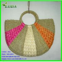 Buy cheap handbags for women overnight bag straw water grass beach tote bags from wholesalers