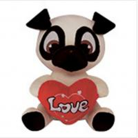PUG Soft Animal Holiday Plush Toys PUPPY DOG Doll For Birthday Gift