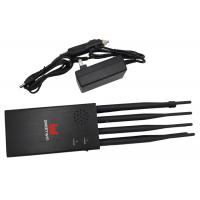 Cheap 8 Band Portable High capacity Mobile Phone Signal Jammer Block All 2G 3G 4G wholesale