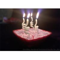 Cheap Noctilucence Swirl Shaped Birthday Candles Art Wax Twisted Birthday Candles for sale