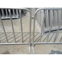 Buy cheap customized metal crowd control barrier, portable barricades, pedestrian barriers from wholesalers