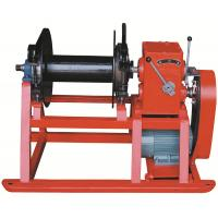 Cheap High Speed Drill Rig Parts , Hydraulic electric wireline winch for drilling for sale