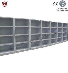 Cheap 3 Adjustable Shelves 250 Liter Lab Medical Storage Cabinet Without Door for sale