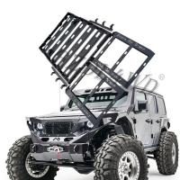 Cheap Black Steel Roof Rack For Jeep Wrangler Jl Roof / Luggage Bar Carrier Roof Rack for sale