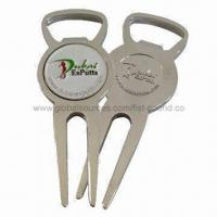 bottle opener shape divot tool with ball marker of dongguanfist pound. Black Bedroom Furniture Sets. Home Design Ideas
