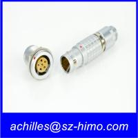 hot-selling high quality 6 pin electrical Lemo industrial connector male and female terminal
