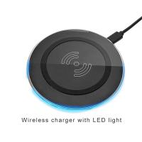 Cheap Fast universal qi wireless mobile charger pad mobile phone accessories charger for samsung for iphone for sale