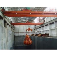 Buy cheap Automatic 24-hours Running Electric Overhead Crane With Grab Bucket For Lifting from wholesalers