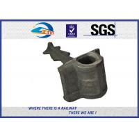 Cheap railroad construction Cast Iron railway shoulders railway parts weld on for sale