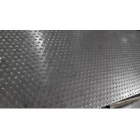 China 5 Bar Thread Checkered Aluminum Sheet For Building , Curtain Wall on sale