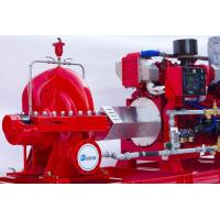 Cheap High Capacity Diesel Fire Fighting Pumps / Stable Red Fire Jockey Pump for sale