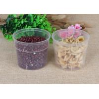 Buy cheap Thick PP Tube Packaging Saving Clear Pet Jars Easy Open 450ml Capacity from wholesalers