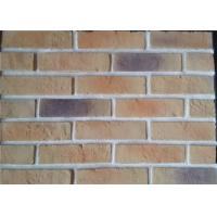 Cheap Lightweight Artificial Outdoor Faux Brick Panels For Apartment / Hospital / University wholesale