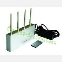 China 505A High Power big Mobile cell Phone GSM+3G Signal Jammer with Remote Control on sale