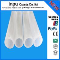 Cheap Opaque(Milky white ) quartz tube for sale